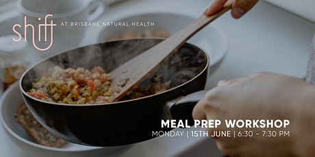 Meal Prep Online Workshop - Brisbane tickets
