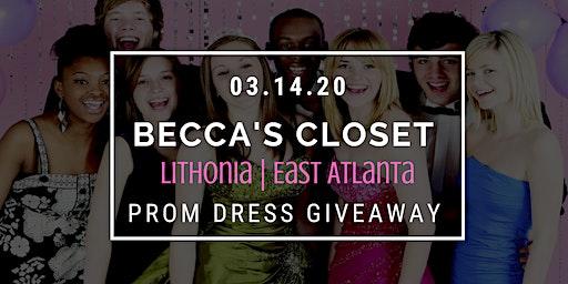 Becca's Closet Lithonia | East Atlanta Prom Dress Giveaway