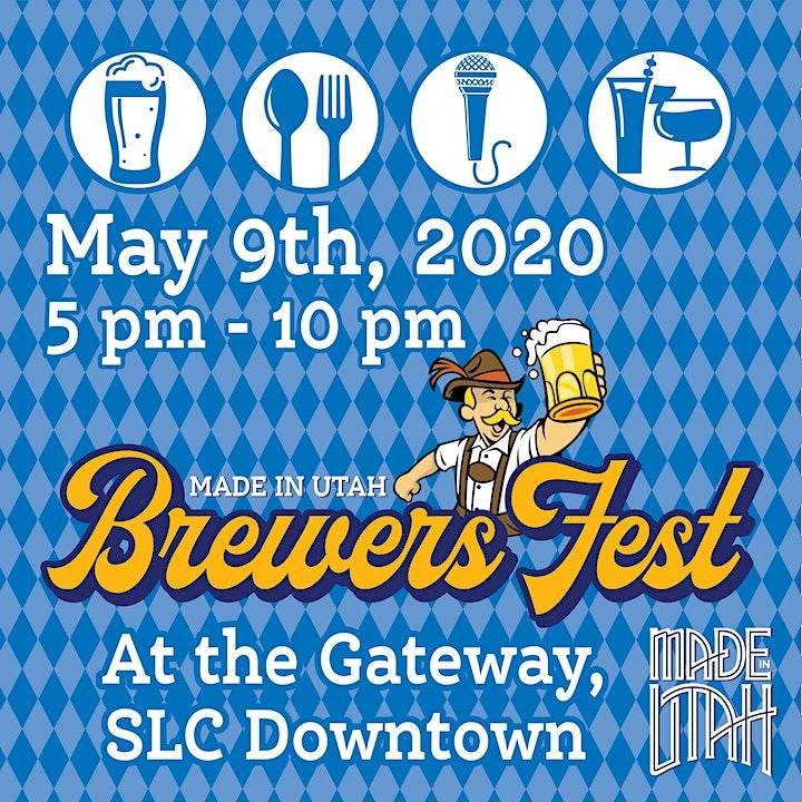 Made in  Utah Brewers Fest 2020 image