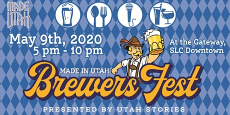 Made in  Utah Brewers Fest 2020 tickets