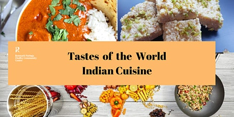 Tastes of the World - Indian Cooking tickets