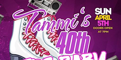 Tammi's 40th 1980's Theme Skate Party