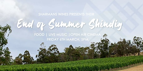 End of Summer Shindig - Open Air Cinema & Live Music tickets