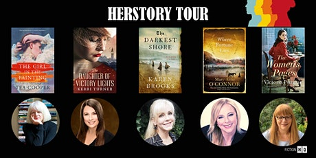 Herstory - Women who Rebel: Author Event tickets