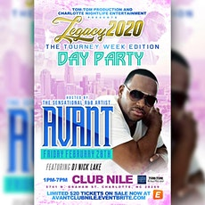 Avant at Club Nile tickets