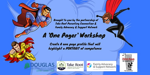 A 'One Pager' Workshop-Create a Portrait of Competence