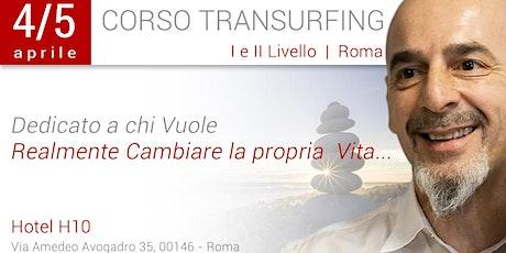 Corso Transurfing I e II livello biglietti