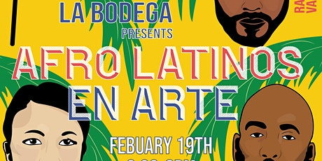 Afro-Latinos en Arte: A discussion on being Afro-Latino in the art world tickets