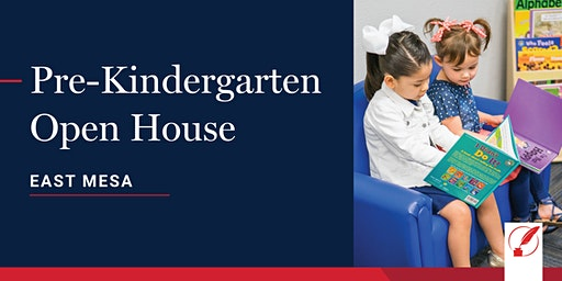 Pre-Kindergarten Open House - East Mesa
