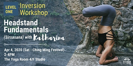 Inversion Workshop Level 1: Headstand Fundamentals (Sirsasana) with Kat tickets