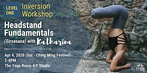 Inversion Workshop Level 1: Headstand Fundamentals (Sirsasana) with Kat