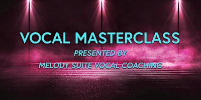 Vocal Masterclass