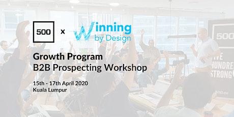 Growth Program - B2B Prospecting Workshop tickets
