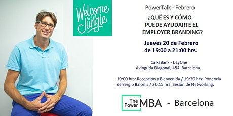 #PowerTalk - ThePowerMBA - Barcelona entradas