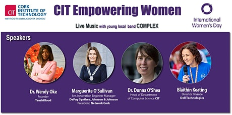 CIT EMPOWERING WOMEN FESTIVAL 2020 celebrating International Women's Day  tickets