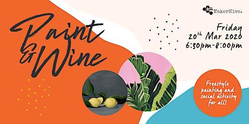 Paint & Wine: Still Life