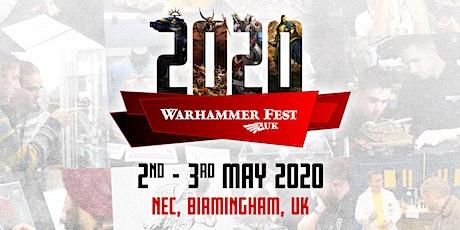Warhammer Fest 2020 tickets
