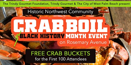 Historic Northwest Community • Crab Boil on Rosemary Avenue West Palm Beach tickets