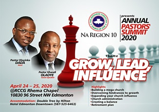 2021 RCCG NAR-10 Annual Pastors Summit (APS) tickets