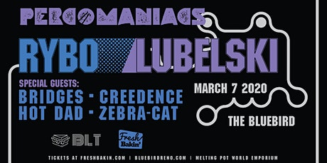 Percomaniacs Tour ft RYBO & Lubelski at The Bluebird tickets