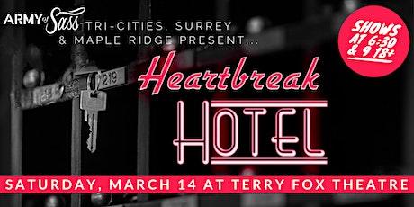 AOS Tri-Cities, Surrey & Maple Ridge present: Heartbreak Hotel tickets