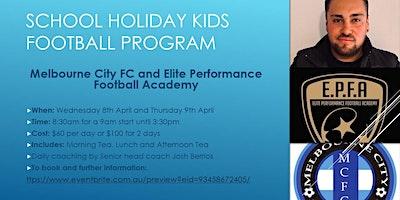 Melbourne City FC School holiday's Football program