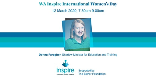 WA Inspire International Women's Day Breakfast