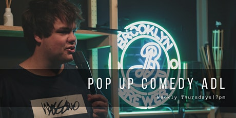 Pop Up Comedy Thursdays @BRKLYN Bar Rundle Street (Dinner & Show Available) tickets