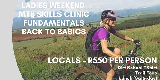 Dirt School Ladies MTB Weekend - Locals