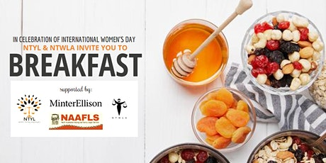 International Women's Day Breakfast jointly hosted by NTYL & NTWLA tickets