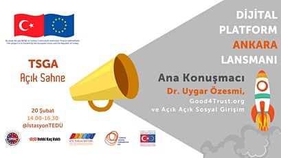 TSGA Açık Sahne : Dijital Platform Ankara Lansmanı tickets