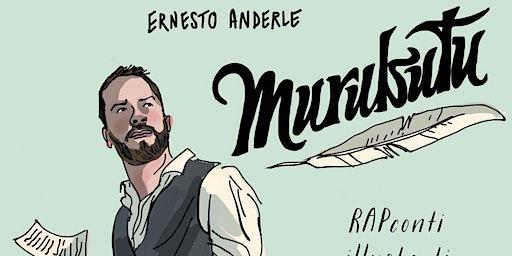 """Murubutu in """"RAPconti illustrati"""" // Tambourine - Seregno (MB)"""