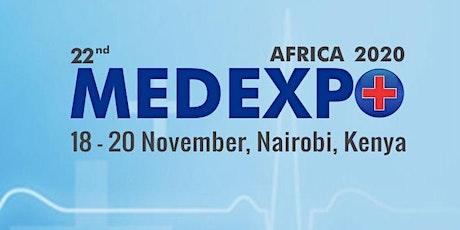 22nd Medexpo Kenya 2020 tickets