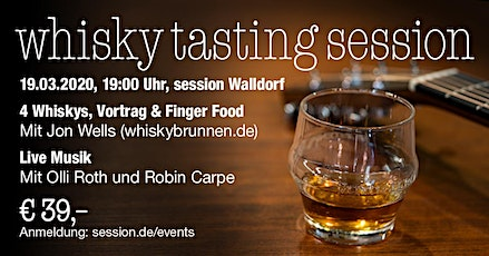 Whisky Tasting session Tickets