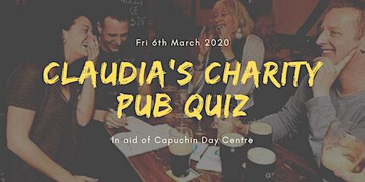 Claudia's Charity Pub Quiz