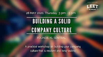 Building A Solid Company Culture tickets