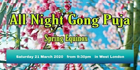 Spring Equinox All Night Gong Journey tickets