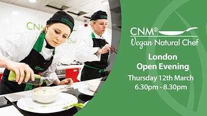 Vegan Natural Chef Open Evening - Thursday 12th March tickets