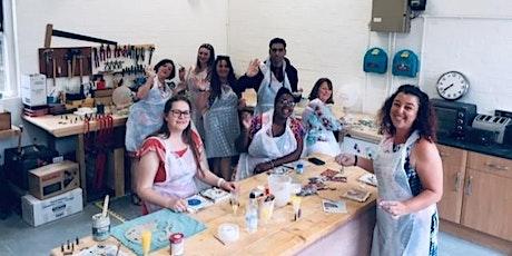 Ceramic Socials with Amanda Cotton| 2-6 Friends | 3hrs | BYOB tickets