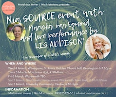 Nia Dance event with LIVE music of Lis Addison in Matakana