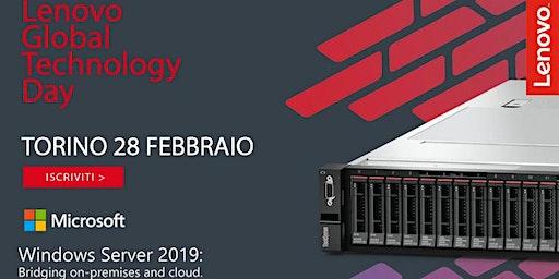 Lenovo Global Technology Day - 28 Febbraio Torino - ISCRIVITI!