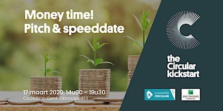 Money Time! Pitch & speeddate tickets
