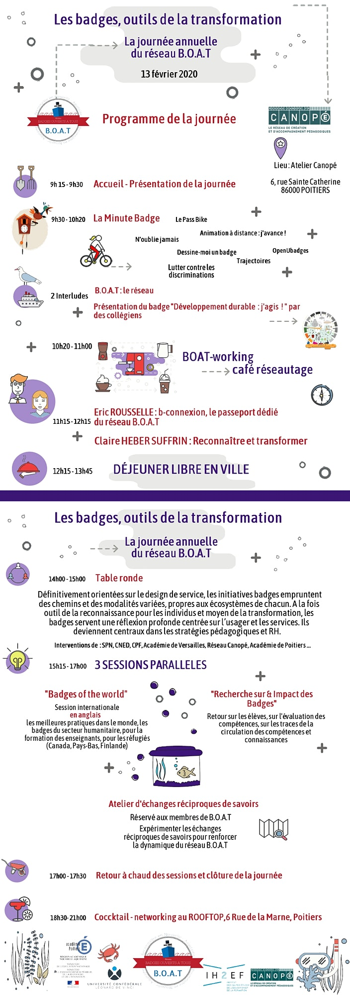 Image pour Les Open badges, outils de la transformation