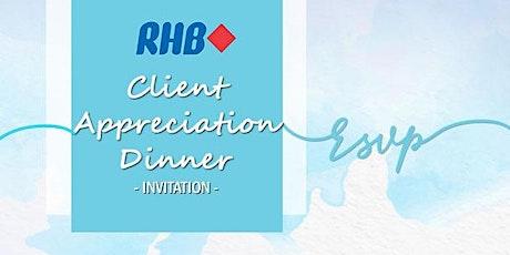 RHB - Client Appreciation Dinner 2020 tickets