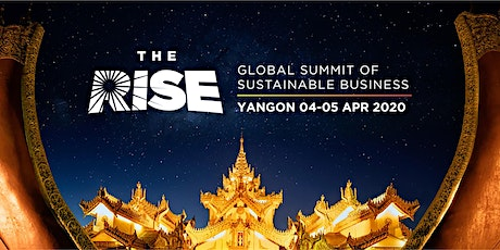 The RISE- Global Summit of Sustainable Business. tickets