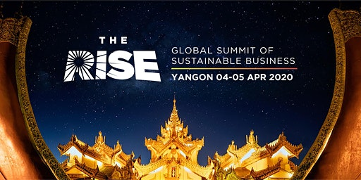 The RISE- Global Summit of Sustainable Business.