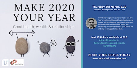 Making 2020 your year: good health, wealth & relationships tickets