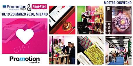 PROMOTION EXPO e SHOPEXPO 2020 - Registrazione Visitatori e Stampa biglietti