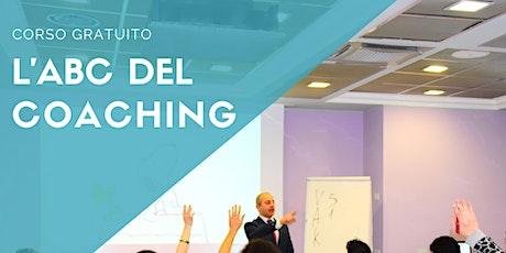 L'ABC del Coaching – corso gratuito tickets