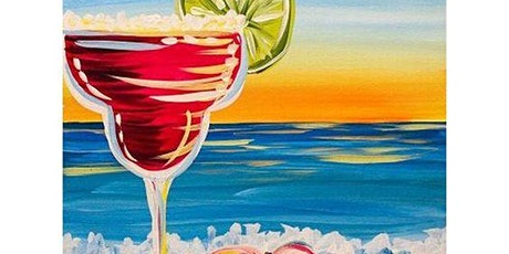 Paint & Sip Night - Painting Margarita Beach @ CHANCELLOR TAVERN tickets
